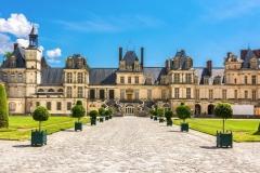 Le-chateau-de-Fontainebleau